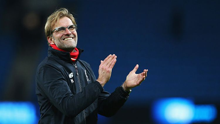 Jurgen Klopp, pelatih Liverpool. Copyright: © Alex Livesey/Getty Images