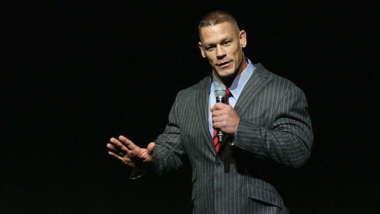 John Cena, bintang gulat WWE sekaligus salah satu aktor F9: The Fast Saga. Copyright: © Gabe Ginsberg/WireImage