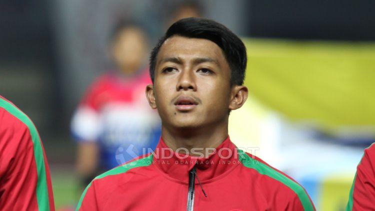 Febri Hariyadi dalam balutan seragam Timnas Indonesia U-22. Copyright: © Herry Ibrahim/INDOSPORT