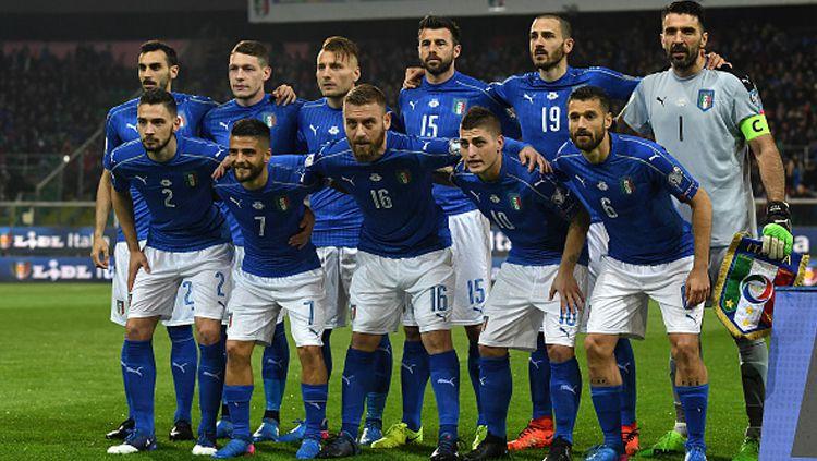 Tim Nasional Italia sempat habisi Turki di Euro 2000 berkat Antonio Conte dan Filippo Inzaghi. Copyright: © Valerio Pennicino/Getty Images