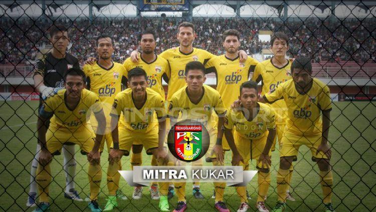Skuat Mitra Kukar. Copyright: © Grafis: Yuhariyanto/foto: Tim Humas PSSI