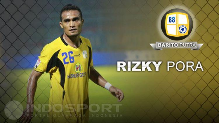 Rizky Pora (Barito Putra) Copyright: © Indosport/Goal/Abi Yazid