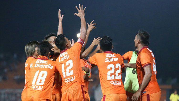 Para pemain Borneo FC. Copyright: © Twitter/PusamaniaBorneo