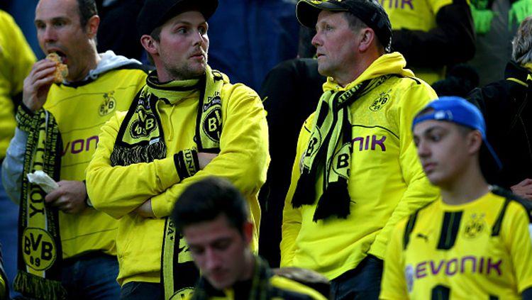 Suporter Borrusia Dortmund dengungkan Salawat Nabi? Copyright: © Christof Koepsel/Bongarts/Getty Images