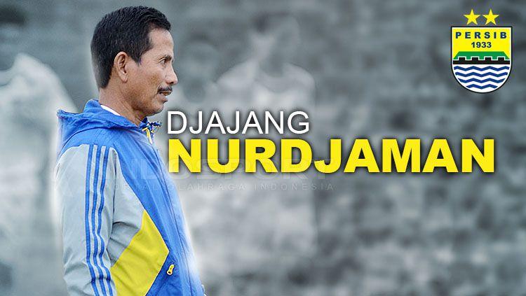 Djajang Nurdjaman, mantan pelatih Persib Bandung. Copyright: © Grafis: Eli Suhaeli/INDOSPORT/Simamaung
