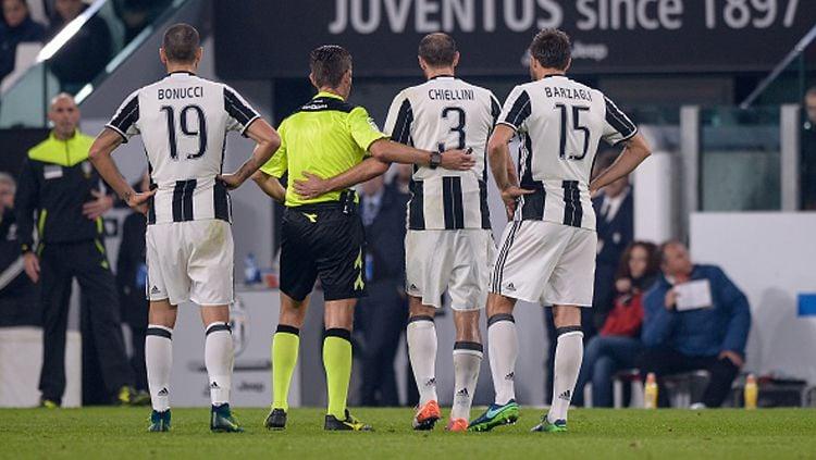 Wasit kontroversi, Gianluca Rocchi akan memimpin laga lanjutan Serie A Italia 2019-2020 antara Inter Milan melawan Juventus. Copyright: © Nicolo Campo/GETTYIMAGES