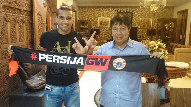 Persija Jakarta resmi merekrut Bruno da Silva Lopes sebagai marquee player. Copyright: © Istimewa