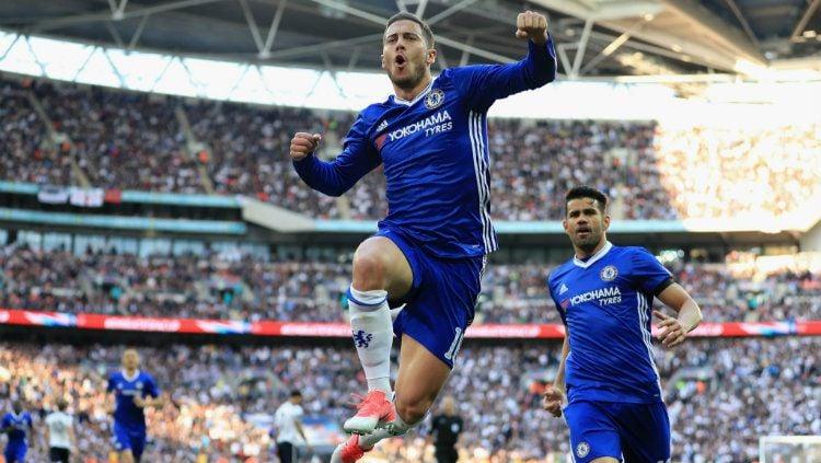 Kabar baik bagi Chelsea, mereka sudah punya pemain yang jauh lebih hebat ketimbang Eden Hazard dan Diego Costa. Copyright: © Twitter/@ChelseaFC