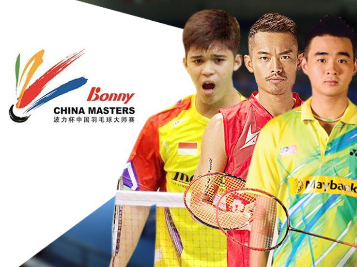 Lin Dan serta 4 Pebulutangkis Tampan di China Masters