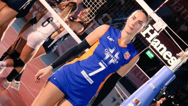 Polina Liutikova (Batam Sindo BVN). Copyright: © twitter@Generika Ayala LS