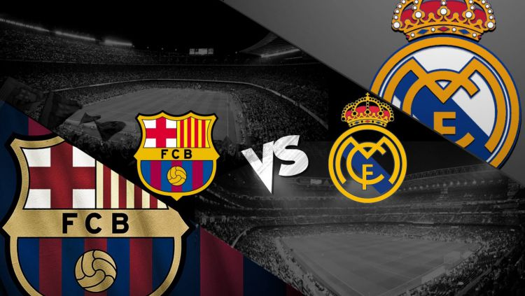 El Clasico: Barcelona vs Real Madrid di La Liga Spanyol, Minggu (28/10/18). Copyright: © realmadridvsbarcelona-live