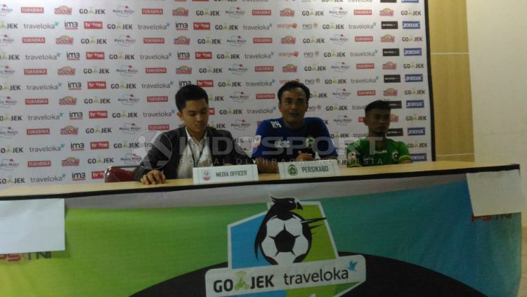 Pelatih Persikabo Kabupaten Bogor, Rudi Hadiantoko Copyright: © Zainal Hasan/INDOSPORT