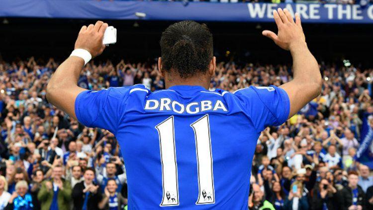 Mengenang kembali Didier Drogba si penjinak Meriam London jelang pertemuan Chelsea vs Arsenal Copyright: © Mike Hewitt/Getty Images