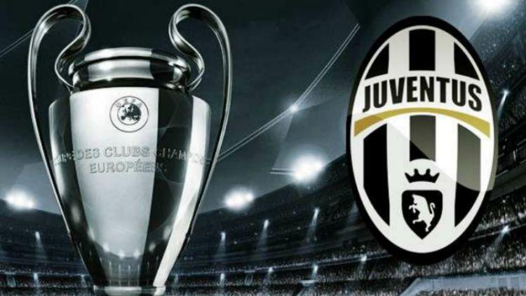 Logo Juventus dan Liga Champions Copyright: © offside