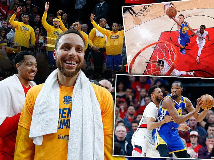 Play-off NBA: Warriors Susul Cavaliers ke Semifinal