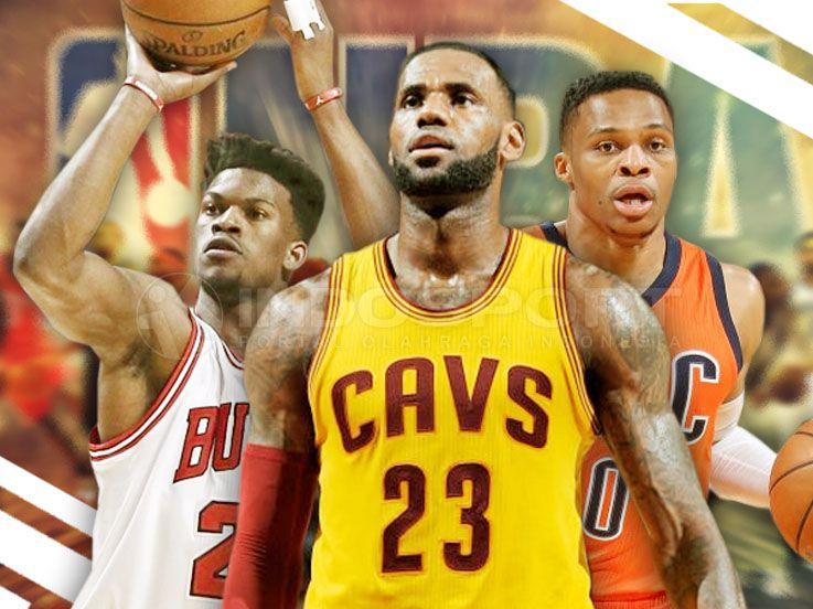 LeBron dan 4 Pekerja Keras di Play-off NBA 2016/17