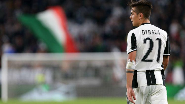 Juventus kabarnya tidak mengandalkan striker mereka, Paulo Dybala, jelang pertandingan International Champions Cup (ICC) 2019 lawan Atletico Madrid. Copyright: © Marco Canoniero / Contributor / Getty Images