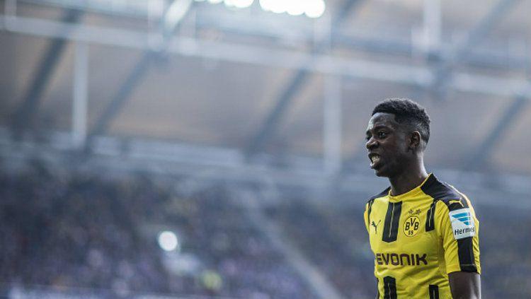 Wonderkid Borussia Dortmund, Ousmane Dembele. Copyright: © Simon Hofmann/Bundesliga/DFL via Getty Images