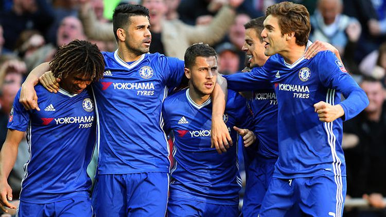 Skuat Chelsea. Copyright: © GETTYIMAGES