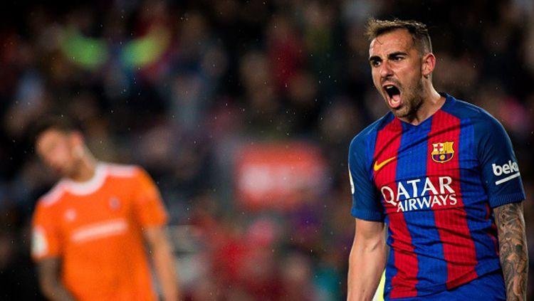 Striker Barcelona, Paco Alcacer. Copyright: © Action Plus via Getty Images