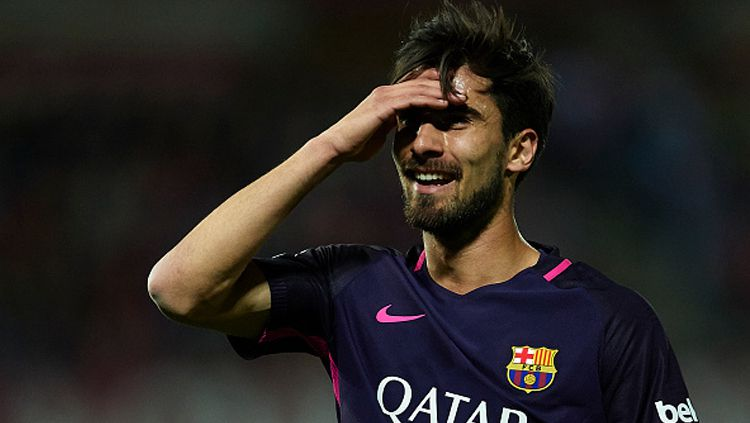 Gelandang Barcelona, Andre Gomes. Copyright: © Aitor Alcalde/Getty Images