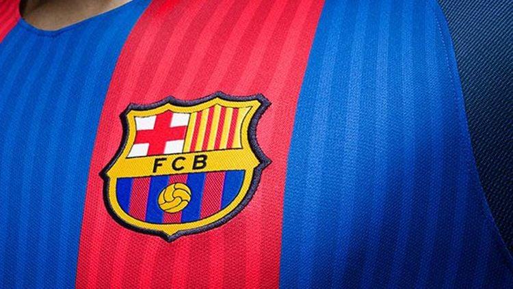Logo Barcelona. Copyright: © footyheadlines.com