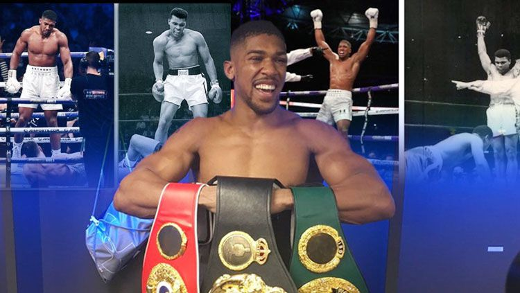 Anthony Joshua. Copyright: © INDOSPORT/Getty Images