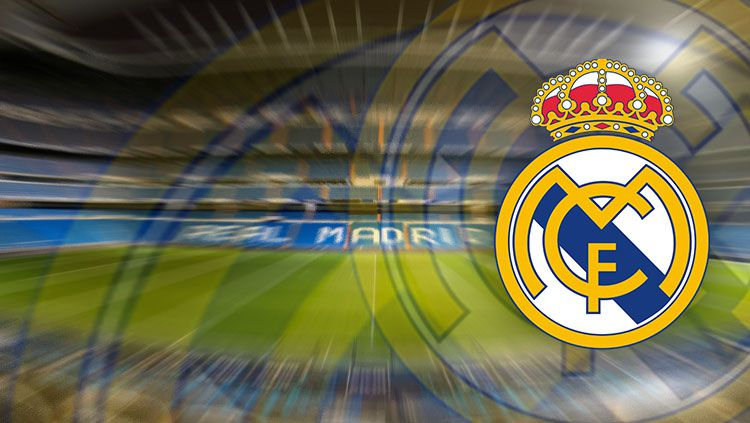 Logo Real Madrid. Copyright: © INDOSPORT/Real Madrid