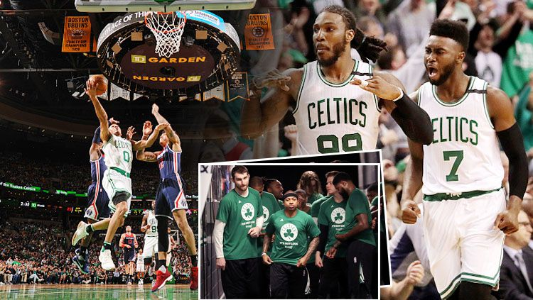 Washington Wizards Vs Boston Celtics. Copyright: © INDOSPORT/Getty Images