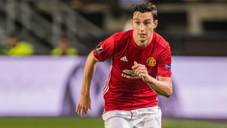 Bek sayap Manchester United, Matteo Darmian. Copyright: © VI Images via Getty Images
