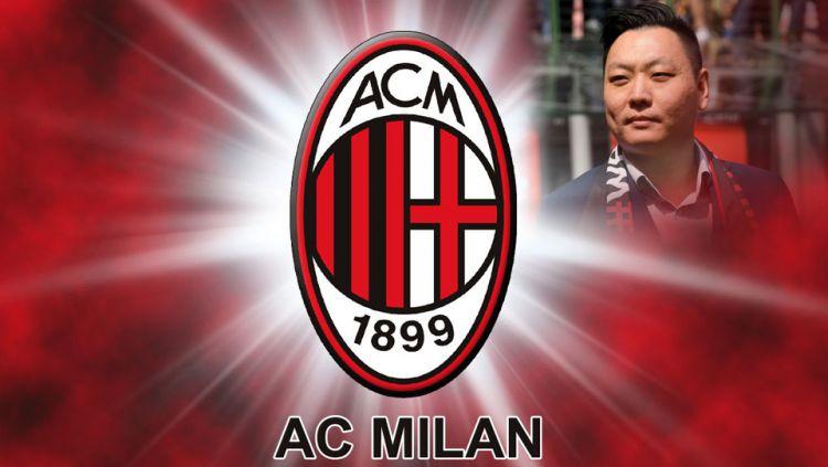 Han Li, pemilik baru AC Milan. Copyright: © Wallpapercave/Claudio Villa/GettyImages