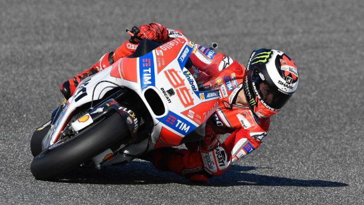 Jorge Lorenzo di GP Spanyol 2017. Copyright: © Twitter/Ducati Motor