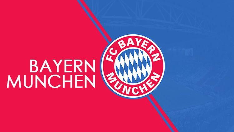Logo raksasa Bundesliga Jerman, Bayern Munchen. Copyright: © Grafis: Eli Suhaeli/INDOSPORT/Wikipedia
