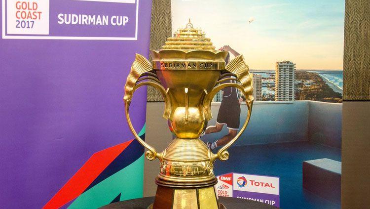 Ilustrasi Piala Sudirman. Copyright: © Djarumbadminton