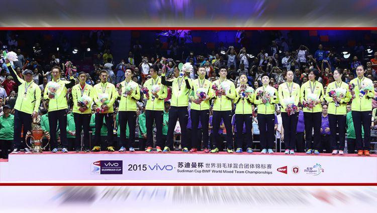 Media China berujar ditundanya kompetisi Piala Thomas - Uber 2020 tahun ini oleh Federasi Bulutangkis Dunia (BWF) sangat menguntungkan bagi wakilnya, kok bisa? Copyright: © bwfbadminton.com