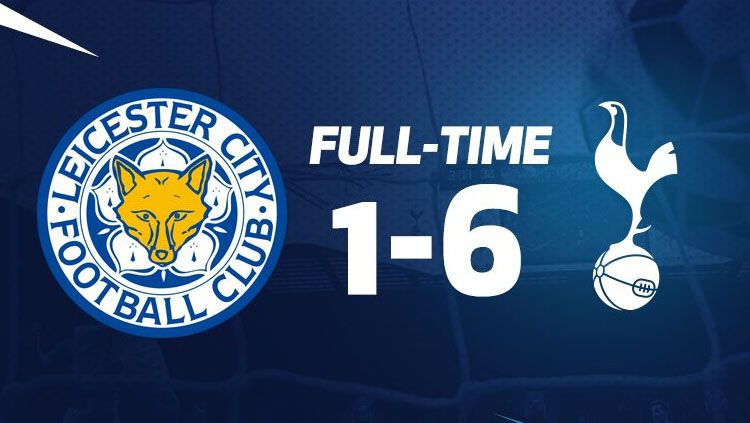 Tottenham Hotspur vs Leicester City. Copyright: © @SpursOfficial