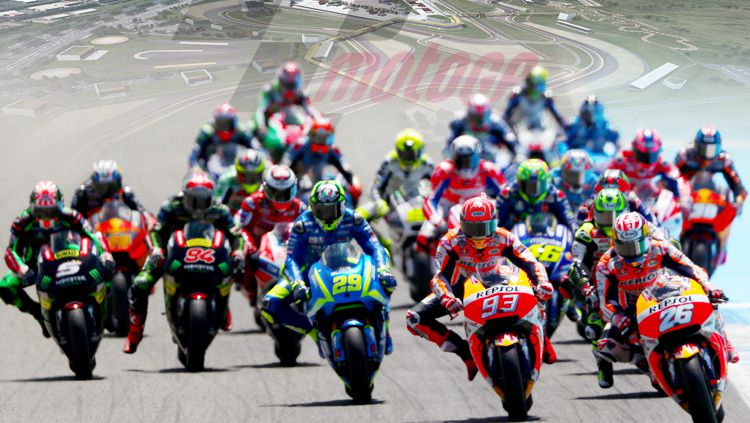 Ajang balap MotoGP rencananya akan segera digelar di Indonesia pada 2018 mendatang. Copyright: © Grafis: Eli Suhaeli/INDOSPORT/Getty Images