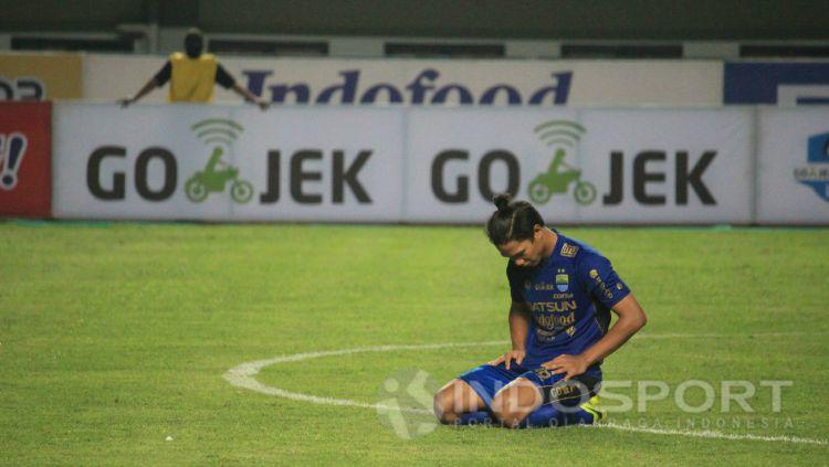 Pemain Persib Bandung, Achmad Jufriyanto. Copyright: © Muhammad Ginanjar/INDOSPORT