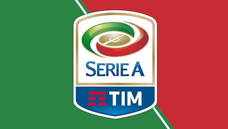 Logo Serie A. Copyright: © Grafis: Eli Suhaeli/INDOSPORT/Wikiepdia