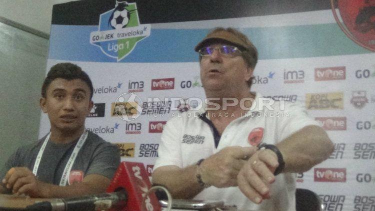 Pelatih PSM Makassar, Robert Rene Albert Copyright: © Basri/INDOSPORT