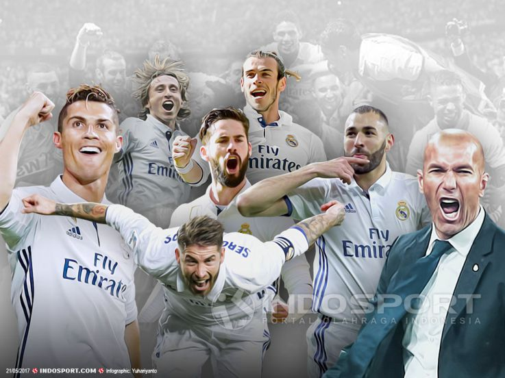 5 Kunci Keberhasilan Real Madrid Menjuarai La Liga