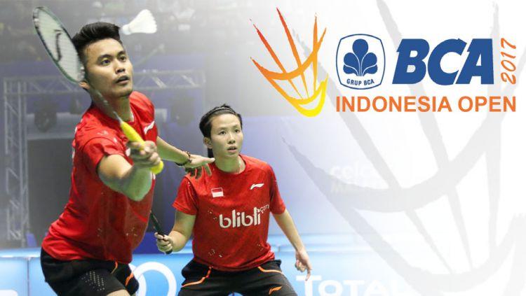 Ajang Indonesia Open 2017 menghadirkan lima kejadian yang unik. Copyright: Indosport/Internet
