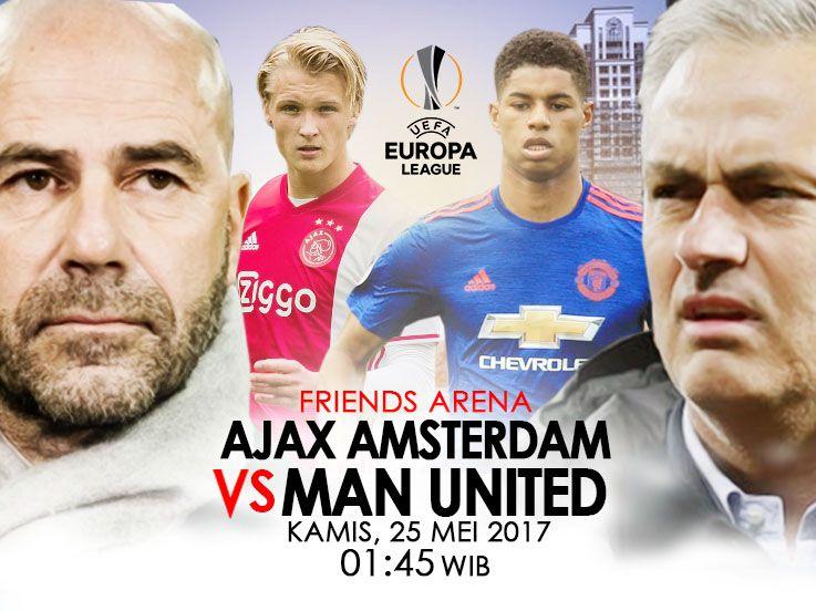 Prediksi Ajax vs Man United: Incar Sejarah Baru