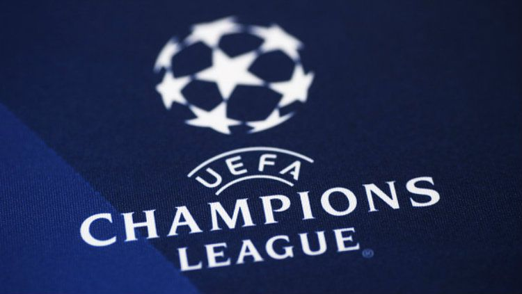 Logo Liga Champions. Copyright: © MARCO BERTORELLO/AFP/Getty Images