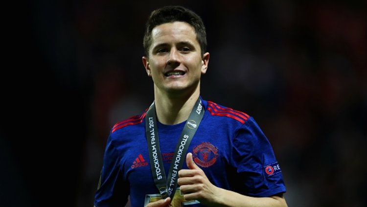 Gelandang andalan Manchester United, Ander Herrera. Copyright: © Dean Mouhtaropoulos/Getty Images