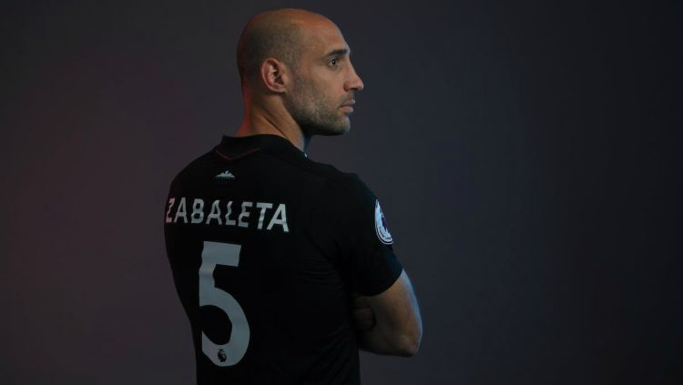 Pablo Zabaleta Copyright: © Twitter West Ham United