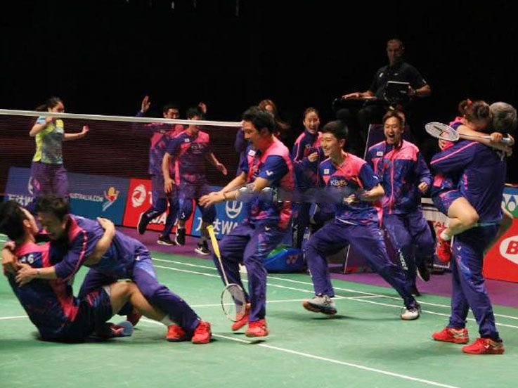 Hentikan Dominasi China, Korea Juara Piala Sudirman 2017