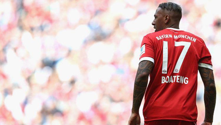 Bek Bayern Munchen, Jerome Boateng. Copyright: © Alexander Hassenstein/Bongarts/Getty Images