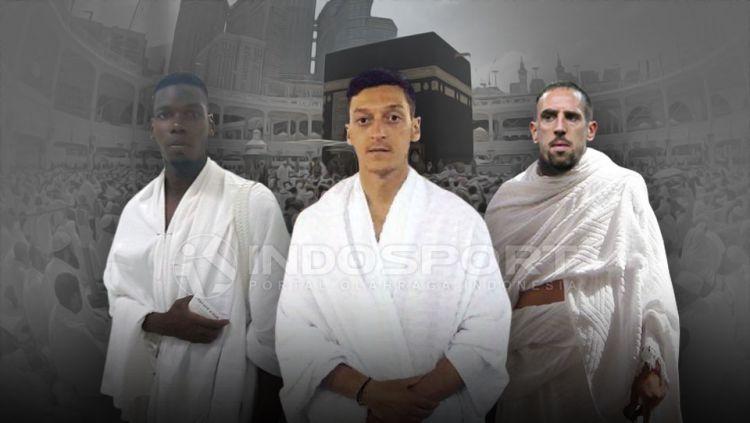Berita seputar pemain muslim di Eropa menjadi perhatian pembaca dalam sehari ke belakang, Kamis (02/04/20) hingga dua di antaranya masuk ke dalam daftar top 5 news. Copyright: © Grafis:Yanto/Indosport/Internet
