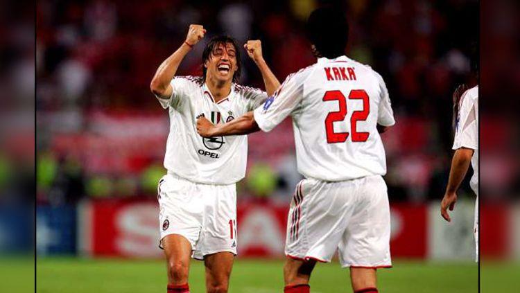 Hernan Crespo menyatakan bahwa klub besar Serie A Italia, AC Milan adalah sebuah agama baru karena butuh dedikasi dan keyakinan yang tinggi untuk menjalaninya. Copyright: © Sportskeeda